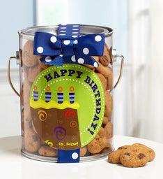 It's Party Time! Birthday Cookies in a Can