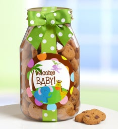 Welcome Baby! Chocolate Chip Cookie Jar