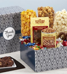 Popcorn Factory Simply Stated Thank You Sampler