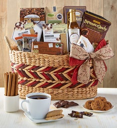 Coffee Cravings Gourmet Gift Basket