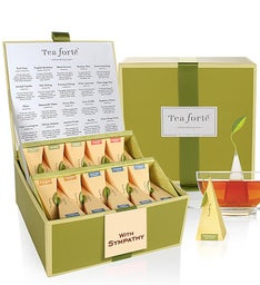 With Caring Concern Tea Forte® Tea Collection