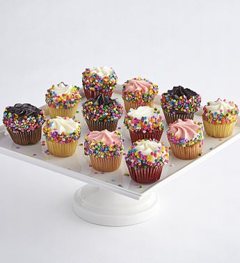 Little Whisk Happy Birthday Mini Cupcakes