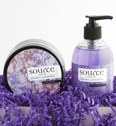 Source Verite Denarii Lavender Spa Set