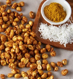 Coconut Curry Peanuts