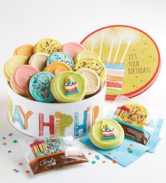 Cheryl's Hip Hip Hooray Musical Birthday Tin