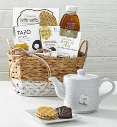 Wintry Warmer Holiday Tea Gift Basket