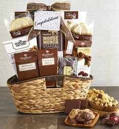 Congratulations! Premier Favorites Gift Basket