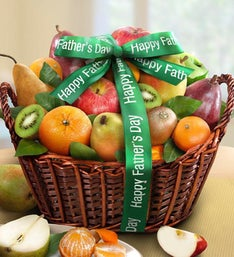 Happy Father's Day Premium Fruits Gift Basket