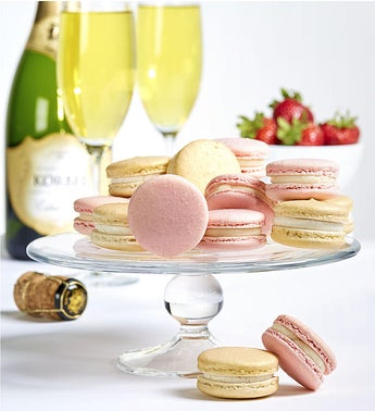 Danas Bakery Champagne  Strawberries Macarons