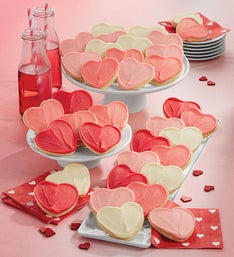 Cheryl's Frosted Heart Cut-Out Cookies