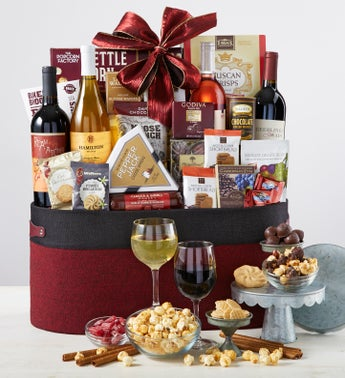 Countryside 4 Bottle Wine  Gourmet Gift Basket