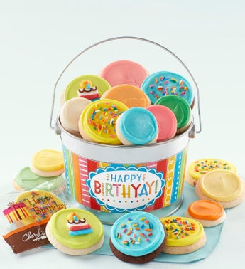 Cheryls Happy Birthday Buttercream Pail