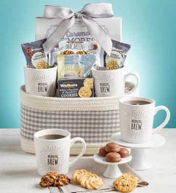 Morning Brew for Two Gift Basket
