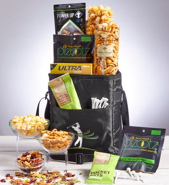 Tee Time for Dad Golf Cooler Bag with Snacks