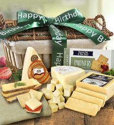 Birthday Country Handcrafted Cheese Gift Basket