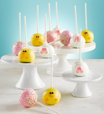 Happy Easter Truffle Cake Pops