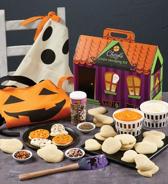Cheryls Halloween Cut-out Cookie Decorating Kit