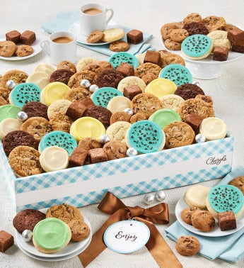 Cheryl39s Dessert Tray Gift Box with Message tag- Large