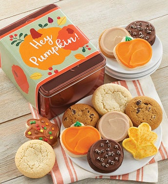 Hey Pumpkin Treats Gift Tin