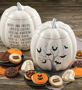 Collector39s Edition Halloween Bats Pumpkin Jar