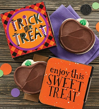 Trick Or Treat Jack O39 Lantern Cookie Card