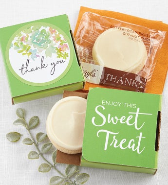 Thank You Cookie Cards - Cases of 24 or 48