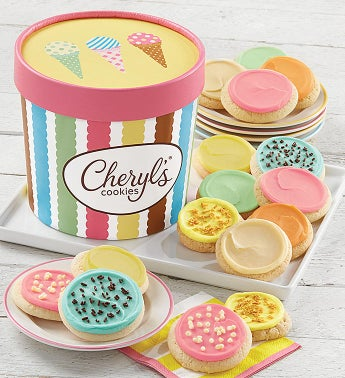 Ice Cream Cookie Tub