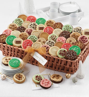 Buttercream Frosted Flavors Cookie Gift Basket - Grand