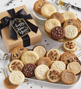 Happy New Year Cookie Gift Boxes