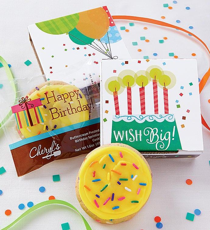 Wish Big Birthday Cookie Card Cases