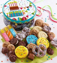 Birthday Gift Tin - Treats Assortment