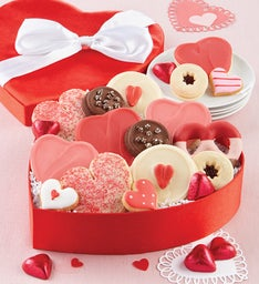 Heart Shaped Satin Treats Box