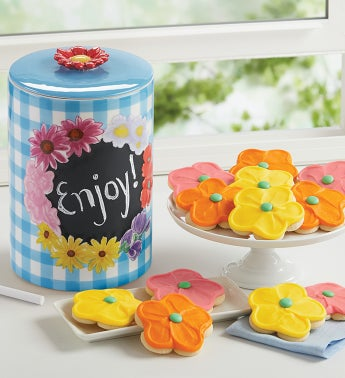 Collectors Edition Chalkboard Cookie Jar