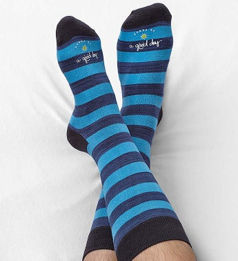 Good Day Striped Socks for Men