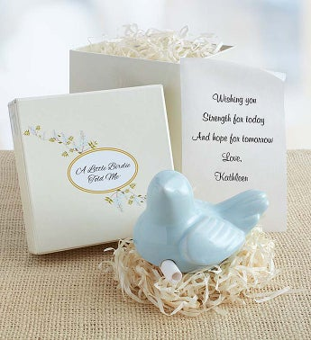 Personalized Remembrance Messenger Bird