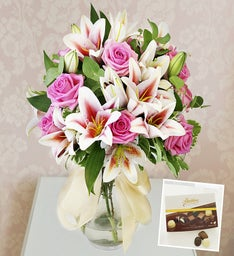 Roses, Lilies & Chocolates