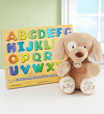 Animated ABC Spunky Learning Gift Set