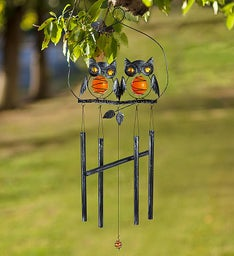 Charming Owl Wind Chime