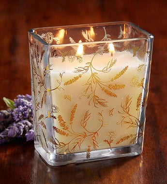 Fields of Flowers Lavender Candle