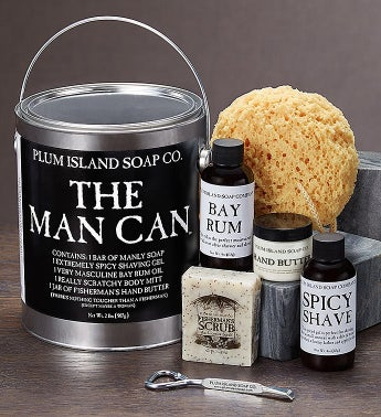The Man Can - Mens Grooming Gift Set