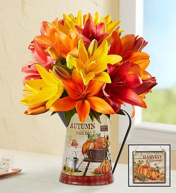 Harvest Spice Lilies