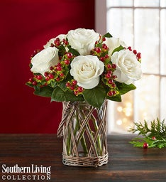 Happy Holiday Bouquet by Southern Living™