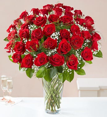 Ultimate Elegance Long Stem Red Roses