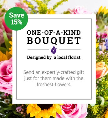 One of a Kind Bouquet  Local Florist Designed
