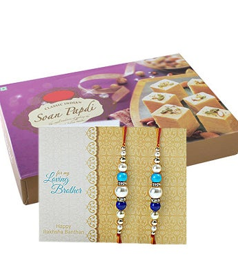One Kg Soan Papdi with Rakhi
