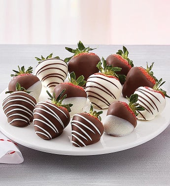 Strawberry Splendor Dipped Strawberries