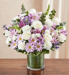 Cherished Memories - Lavender and White