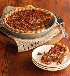 Sweet Lady Jane Deep Dish Pecan Pie