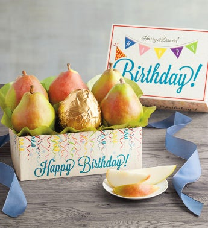 Birthday Pear Gift Box