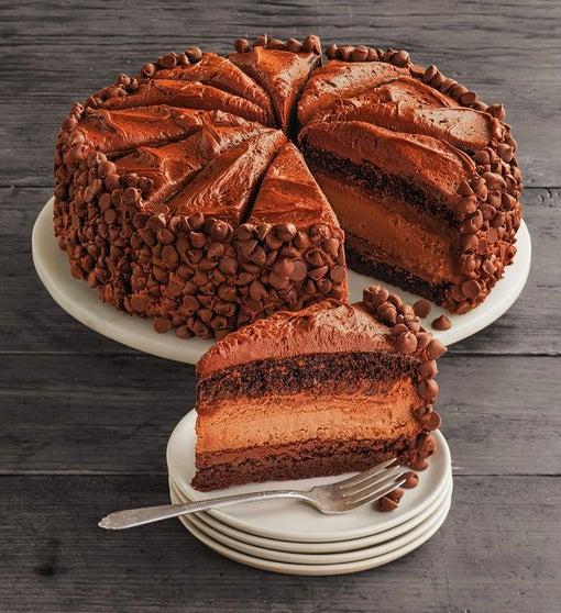 """The Cheesecake Factory® HERSHEY'S® Chocolate Bar Cheesecake - 10"""""""